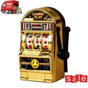 10pcs Vintage Mini Small Slot Machine Lucky Toy For Kid Childrengold