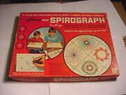 1967 Kenner Spirograph Set 401 Complete Set Without Pens In Original Box