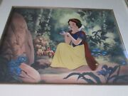 Snow White Little Lost Bird Sold-out Disney Limited Edition Cel
