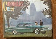 1961 Chevrolet Dealer Showroom Album / Original. Salesmans