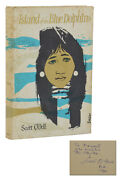 Island Of The Blue Dolphins Scott Oand039dell Signed First Edition 1st Print 1960