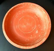 Ancient Roman Intact Large Redware Bowl - Gem Ex-christies 3rd-4th Century Ad