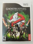 Ghostbustersthe Video Game Nintendo Wii, 2009 Complete