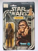 1977 Kenner Star Wars - Chewbacca- Action Figure Original Package 38210 12 Back