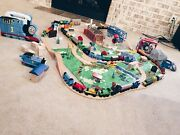 Fisher-price Thomas And Friends Wooden Custom Train Set -127 Pieces