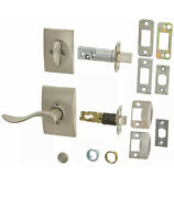 Schlage Lock Company F59acc619accent Left Handed Interior Pack Lever Set W