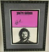 Ringo Starr Beatles Signed And039and039youand039re Sixteenand039and039 Sheet Music Psa/dna Authenticated