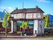 N Scale Vollmer Double Track Switch Tower Building Kit 47603