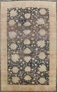 Geometric Floral Oushak Egyptain Vegetable Dye Hand-knotted Large Area Rug 10x14