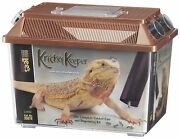 Leeand039s Cricket Keeper Size Large 12w X 7d X 9.5h - Houses Up To 150 Crickets