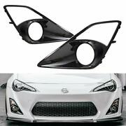 A Pair Left And Right Fog Lamp High-gloss Bezel Covers For 2013-2016 Scion Fr-s