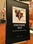 2 Framed Alice Cooper Welcome To My Nightmare Lp Album Cd Ads - In 2 Sizes