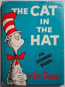 1st Ed The Cat In The Hat Dj First Edition 1st Print 200/200 Price 1957