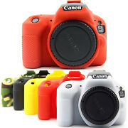 Camera Bag Soft Silicone Rubber Protective Body Cover Case For Canon 250d 850d