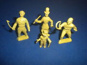 4 Marx Super Circus 1950's Figures Playset The Big Top Performers Lot 6