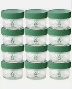 Sage Spoonfuls Storage Containers Set Of 12 Glass Baby Food Jars With 60 Labels