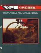 White435 420 Series Disc Chisels And Chisel Plow Brochure