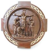 Chapel Set Of The Crown Of Thorns Stations Of The Cross In A Bronze Finish