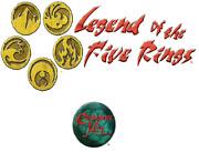 Legend Of The Five Rings - Ccg - L5r - Set Crimson And Jade - Candj