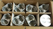 289 302 Ford Pistons .040 Over Set Of 8 Cast Flat Tops
