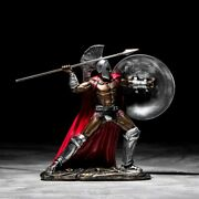 Spartan Ancient Rome Warrior Figurines Statue Luxury Sculpture Free Shipping
