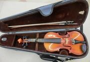Suzuki 1 / 4 Size Used Violin No.200 With Hard Case Bow For Children From Japan