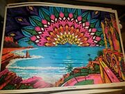 Enchanted World 1968 Vintage Blacklight Nos Poster By Celestial Arts -nice