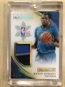2013-14 Panini Immaculate Kevin Durant Christmas Day 1/ 1 Game Worn Patch