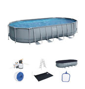 Bestway Premium Series Swimming Pool With Solar Water Heater 22ft X 12ft X 48ft