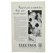 Electrol Oil Burner 1929 Webster's Dictionary National Geographic Magazine Ad