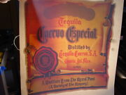 Quervo Gold Tequila Vintage 1970and039s Iron On Transfer Alcohol -nice B-11