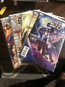 Justice Society Of America Lot 3-7 2007 Variant