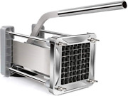 French Fry Cutter Sopito Professional Potato Cutter Stainless Steel With 1/2-in