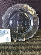 Longaberger 1996 Blue Heisey Collectible Plate. Excellent Condition.