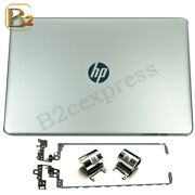 New Hp 15-bs 15t-br 15-bw Lcd Back Cover 924892-001+hinges Sets+hinge Cover