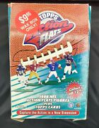 1999 Topps Nfl Action Flats Figures With Football Card Box