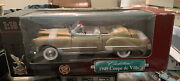1949 Gold Cadillac Coupe De Ville Die Cast Metal Collection Deluxe Edition.