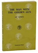 Man With The Golden Gun Ian Fleming First Edition 1st Advance Uncorrected Proof