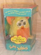 Vintage Furby Baby 1999 Tiger Electronics Yellow And Orange New In Worn Package