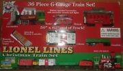 Lionel Christmas Train Set 36 Pieces G Scale In Box In Nice Condition Pick Up