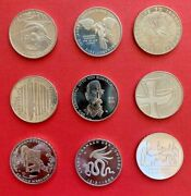 10 Euro Different 9 Coins Germany 2011-2015 Commemorative Cu-ni