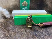 1810 Brass Habsburger Streckenuhr Game Counter Germany Leather Pouch Mint