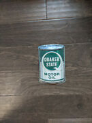 8.5 Quaker State Motor Oil 3d Cutout Retro Usa Steel Plate Display Ad Sign