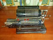Very Rare Mechanical Calculator Walther Arithmometer. Adding Machine. About 1930
