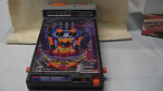 Tomy Atomic Arcade Tabletop Pinball Game Electronic W/box And Legs
