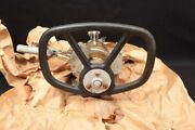1950and039s Us Army Usgi M48 And M60 Tank Steering Wheel 8370292 Shift Lever And Mount