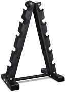 Dumbbell Weight Rack Barbell A-frame Maximize Floor Space Storage Holds 570 Lbs.