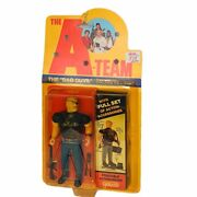 A-team Action Figure Vtg Galoob Toy Bad Guy Python Big Angry Bald Eye Patch Mr T