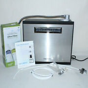 Tyent Rettin Mmp-9090 Turbo Extreme Water Ionizer Stainless Black Manual Filters
