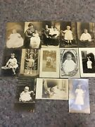 13 Early Rppc Real Photo Postcard Lot-children-babies